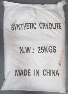 New 25k Kg Synthetic Cryolite Powder For Aluminum Glass Enamel Ceramics Abrasive