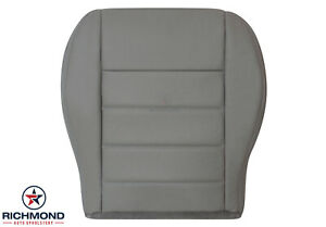 2006 2008 Dodge Magnum Se R T Sxt Driver Side Bottom Leather Seat Cover Gray