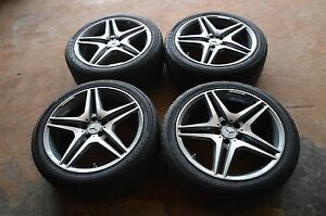 Mercedes Benz S63 s65 s550 s600 Factory Amg Rims W Yokohama Tires Perfect Shape