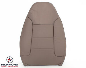 92 96 Ford Bronco Xlt Driver Side Lean Back Perforated Leather Seat Cover Tan