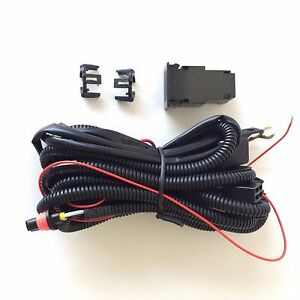 12v 30a Fog Light Wiring Harness Relay Kit On Off Switch 899 880 2 Plugs Wire