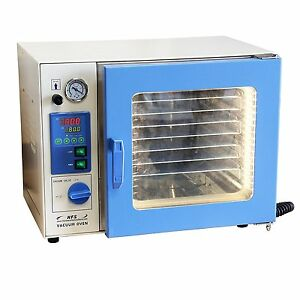 Hfs Brand 1 9 Cu Ft 16x14x14 Lab Vacuum Oven Degassing Drying Oven 480f Herbal