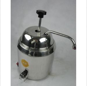 Hot Fudge Nacho Cheese Chocolate Dispenser Warmer Cheese Water Heating Machine U