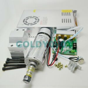 Er11 400w 48v High Speed Cooling Fan Brush Motor Pcb Spindle With Power Supply