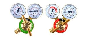 S a Oxygen And Acetylene Regulators Welding Gas Gauges Rear Entry Ldb