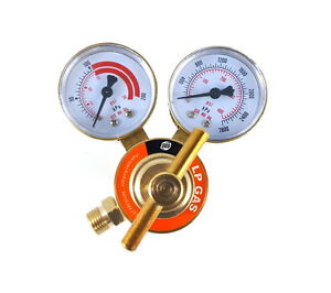 S a Propane Regulator Welding Gas Gauges Cga 510 Rear Connector Ldb
