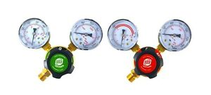 S a Oxygen And Acetylene Regulators Welding Gas Gauges Rear Entry Ldp