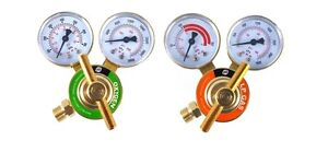 S a Oxygen And Propane propylene Regulators Weld Gauges Rear Entry Ldb