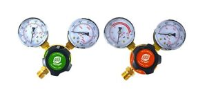 S a Oxygen And Propane propylene Regulators Weld Gas Gauges Rear Entry Ldp