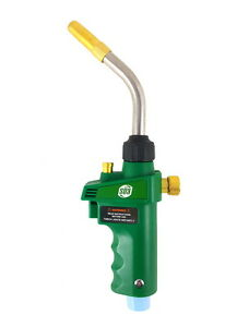 S a Mapp Or Propane Adjustable Brazing Soldering Self Igniting Torch Green