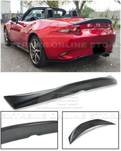 Leg Sport Style Rear Trunk Duckbill Wing Spoiler For 16 up Mazda Mx 5 Miata Nd