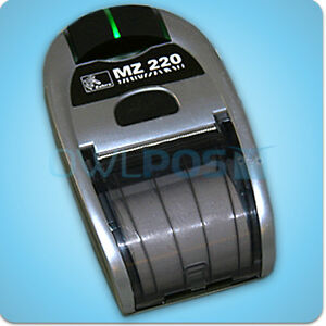 Zebra Mz 220 Mobile Pos Portable Bluetooth Thermal Receipt Printer Refurbished