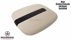 2007 Cadillac Escalade Ext Esv Center Console Lid Replacement Leather Cover Tan