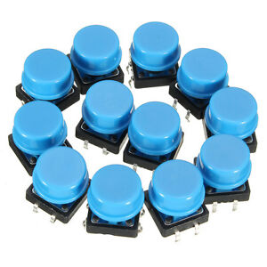Tactile Push Button Switch Momentary Tact Caps 20pcs