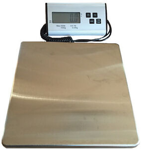 Shipping Scale Postal Bench Floor Scale 330 Lb Digital free Shipping