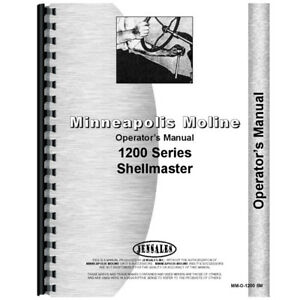 New Minneapolis Moline 1200 Tractor Operators Manual