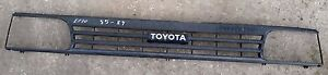 Toyota Starlet Ep70 Ep71 1985 89 Model Front Grill Mask Used Genuine
