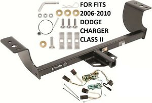 Trailer Hitch W Wiring Kit Fits 2006 2010 Dodge Charger Class Ii Draw tite New