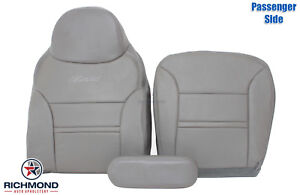 2000 2001 Ford Excursion Limited Passenger Complete Leather Seat Covers Gray