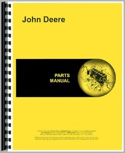 New Parts Manual For John Deere 830 Tractor 3 Cylinder