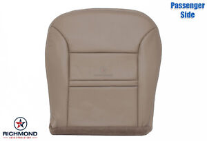 2000 2001 Ford Excursion Limited Passenger Side Bottom Leather Seat Cover Tan