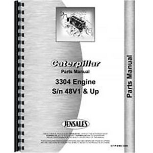 For Caterpillar 3304 Engine Parts Manual new