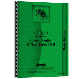 New Steiger Panther Tractor Parts Manual