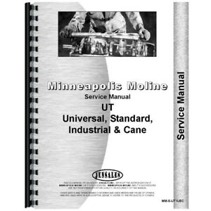 New Service Manual Made For Minneapolis Moline Tractor Model Uts
