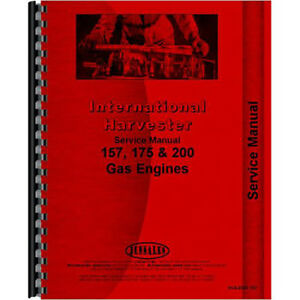 New International Harvester 3400a Tractor Engine Service Manual