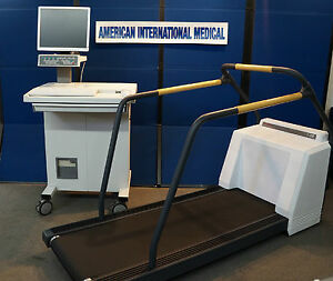 Ge marquette Case 8000 Stress System W treadmill refurbished 1 Year Warranty