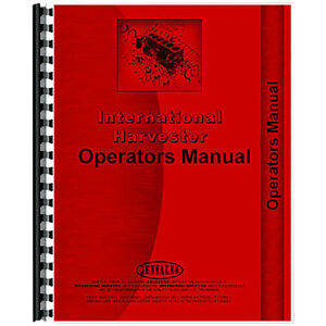 New Farmall 140 Tractor Operators Manual agricultural