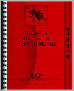 New Farmall 400 Tractor Service Manual gas And Diesel Only