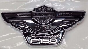 Ford F 150 Harley Davidson Edition Supercharged Emblem New