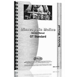New Minneapolis Moline Gt Service Manual