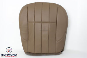 2000 Jeep Grand Cherokee Limited driver Side Bottom Leather Seat Cover Tan Camel