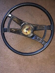 Vintage Porsche Original Steering Wheel Lot 225