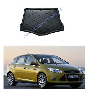 Car Trunk Mat Cargo Tray Liner Mat Trunk Mat Pad For Ford Focus 2012 Hatchback