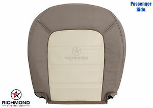 2004 Ford Explorer Eddie Bauer passenger Side Bottom Leather Seat Cover Tan