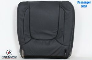 2005 Dodge Ram Laramie Passenger Side Bottom Replacement Leather Seat Cover Gray