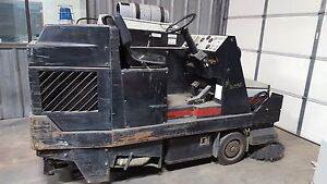 Advance Hydro Receiver Floor Sweeper