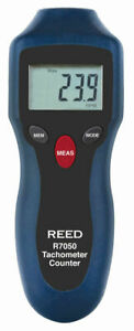 Reed R7050 Compact Photo Tachometer And Counter Non contact Rpm Measurements