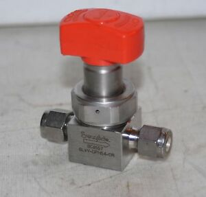 1 4 Tube fitting Diaphragm Valve 316lss Swagelok 6lvv dphs4 or