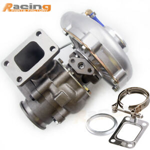 Universal T3 T4 T04e 63ar Hybrid Turbo Charger Vband With Internal Wastegate