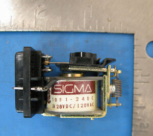 Sigma Relay 50f1 24dc spdt 5am 24v 5 Amp