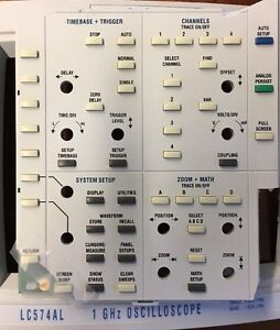 Lecroy Lc574al Front Panel Assembly
