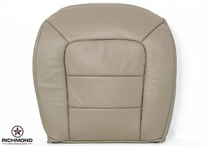2005 Ford Explorer Sport Trac driver Side Bottom Leather Seat Cover Tan