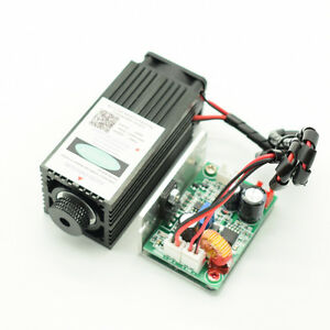 450nm Blue Laser Module Ttl 2 5w High Power Engrave Focusablenew