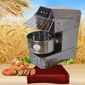 Double Action Double Speed 8kg Small Spiral Dough Mixer 110v 220v