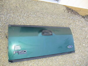 97 03 Ford F 150 Super Crew Quad Cab Step Side Green Tailgate Tail Gate Oem Used