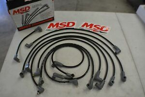 Msd 8 5mm Super Conductor Spark Plug Wire Sets 31653